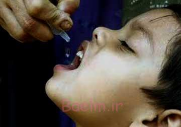 واکسن های کودک,درمان بیماری فلج اطفال B