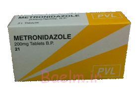 موارد مصرف و عوارض قرص مترونیدازول (METRONIDAZOLE)