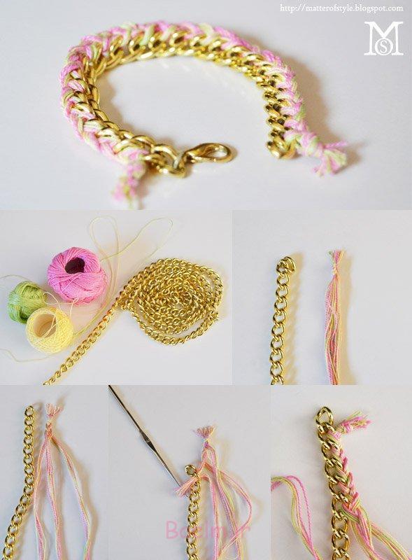 10 Creative DIY Bracelet Tutorials