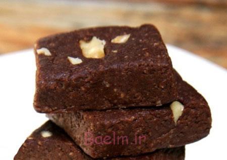 طرز تهیه براونی شکلاتی بدون فر,درست کردن براونی شکلاتی