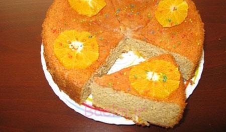 آموزش انواع کیک | طرز تهیه کیک پرتقال و بهارنارنج (کیک فصل بهار)