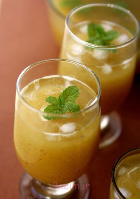 آموزش انواع نوشیدنی رژیمی | نوشیدنی ترش و شیرین انبه مناسب گیاهخواران