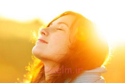 نور خورشید در کاهش خطر بروز پوکی استخوان موثر است