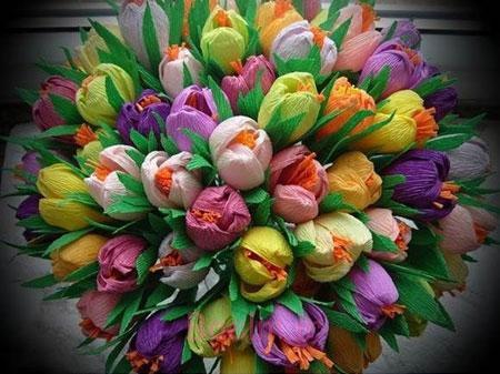 ساخت گل با کاغذ کشی,آموزش ساخت گل با کاغذ کشی,آموزش ساخت گل رز با کاغذ کشی
