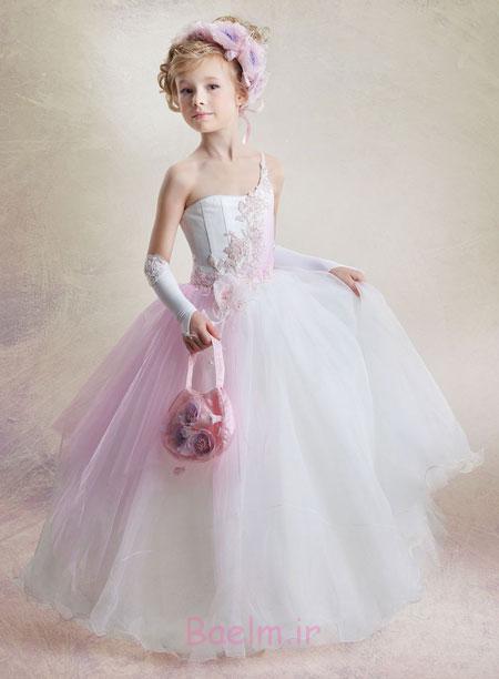 مدل لباس مجلسی بچه گانه 2015
