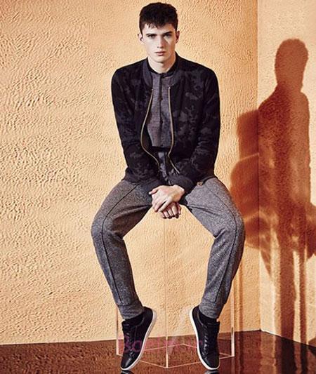 شلوار گرمکن مردانه, مدل شلوار پارچه ای مردانه