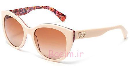 شیک ترین عینک زنانه 2015,عینک آفتابی گلدار زنانه