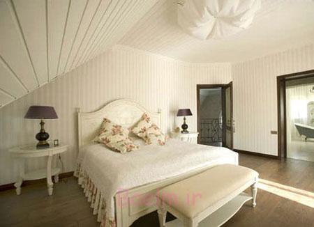 روانشناسی رنگ سفید اتاق خواب،رنگ های آرامش بخش اتاق خواب