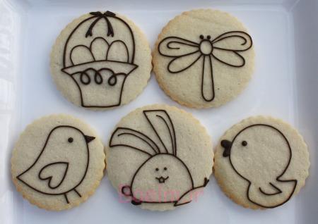 تزئینات فانتزی | عکسهای زیبا از تزئین شیرینی کوکی مخصوص تولد