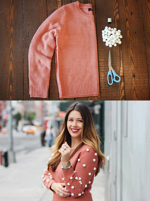 18 Fashionable Sweater Makeovers