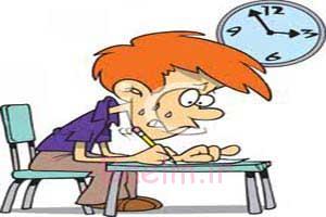 مدیریت استرس امتحانات