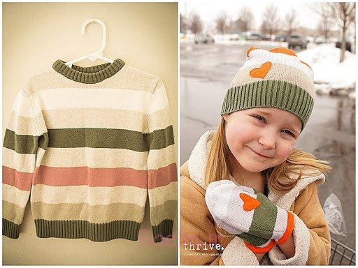 16 DIY Recycling Sweater Projects