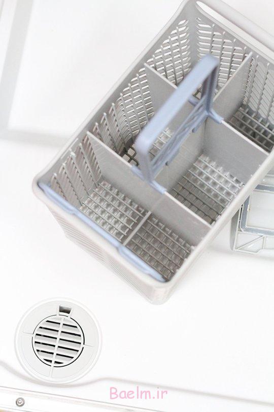 آموزش نحوه تمیز کردن و شستن ماشین ظرف شویی
