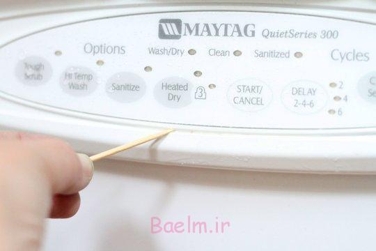 چگونه ماشین ظرفشویی را تمیز کنید