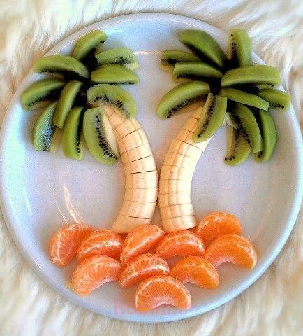 دکوراسیون سالاد میوه 1