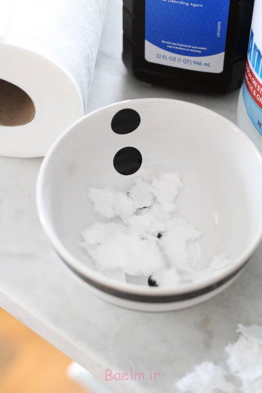 چطور لکه ها را از سطوح سنگی(مرمر) پاک کنید