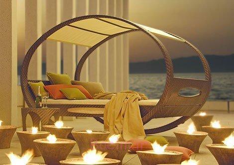 دکوراسیون اتاق خواب زیبا با شمع (10)
