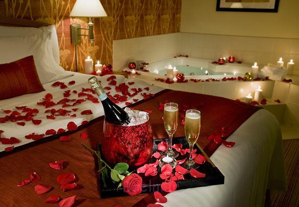 دکوراسیون اتاق خواب زیبا با شمع (7)