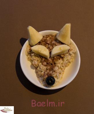 آموزش تصویری درست کردن فرنی خوشمزه برای صبحانه کودک