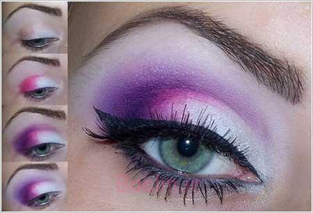 آرایش چشم عروس, آموزش آرایش چشم عروس, مدل آرایش چشم