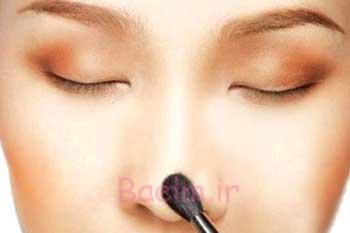 راهنمای آرایش صحیح صورت متناسب با انواع فرم بینی