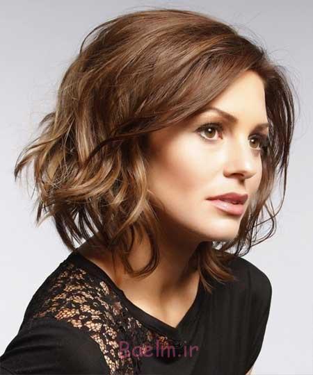 مدل مو کوتاه دخترانه جدید, مدل مو کوتاه برای صورت کشیده, مدل مو کوتاه زنانه جدید