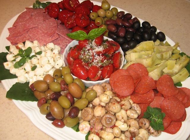دکوراسیون غذای سرد با سبک های مختلف