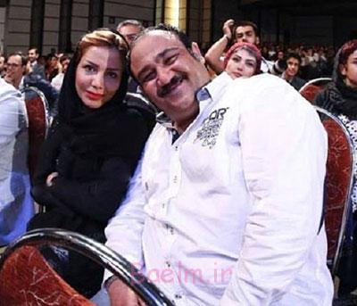 اخبار بازیگران | عکس جدید مهران غفوریان همراه با همسرش