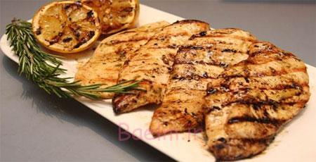 طرز تهیه گریل مرغ, مواد لازم برای سینه مرغ گریل شده