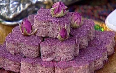 آموزش انواع حلوا | مواد لازم و طرز تهیه حلوای گل سرخ (مخصوص افطار)