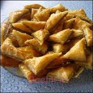 آموزش انواع شیرینی | طرز تهیه شیرینی گوشفیل (ساده و مجلسی)