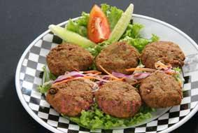 آموزش انواع کتلت | طرز تهیه کتلت شامی نخودچی مخصوص افطار