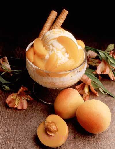 آموزش انواع دسر خانگی | طرز تهیه دسر با طعم هلو و زردآلو (بسیار خوشمزه)
