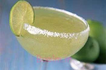 انواع نوشیدنی   طرز تهیه دسر یا یک نوع نوشیدنی با پوست لیمو