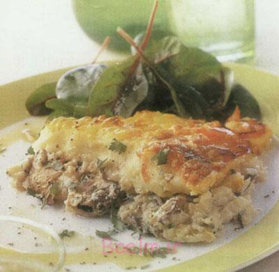 آموزش انواع غذاهای دریایی | مواد لازم و طرز تهیه سوفله ماهی
