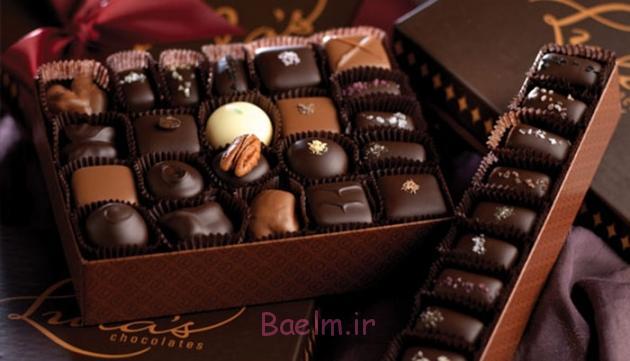 ۲۰ فایده ی شکلات برای سلامتی