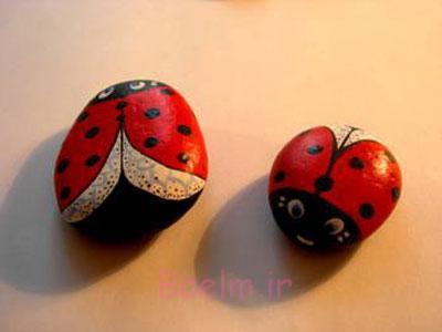 نقاشی روی سنگ, آموزش نقاشی روی سنگ
