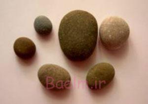 نحوه نقاشی روی سنگ،نقاشی سنگ به شکل کفشدوزک