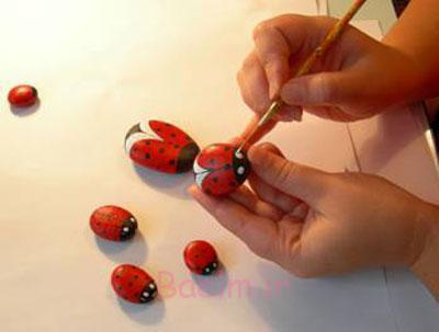 آموزش نقاشی روی سنگ, اصول نقاشی روی سنگ