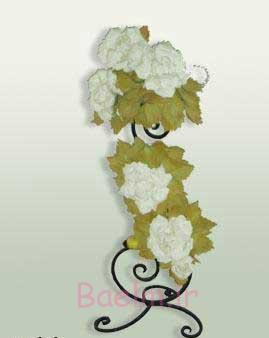 آموزش گلسازی فانتزی | آموزش درست کردن گل رز بلندر (ساده و زیبا)