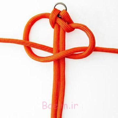 درست کردن دستبندهای اسپورت با بند کفش و چندین گره ساده