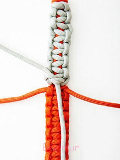 ساخت دستبند گره دار