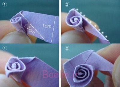 آموزش گل سازی, ساخت گل با کاغذ