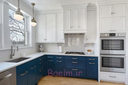 چیدمان جدید آشپزخانه,اصول طراحی آشپزخانه,دکور آشپزخانه های سفید