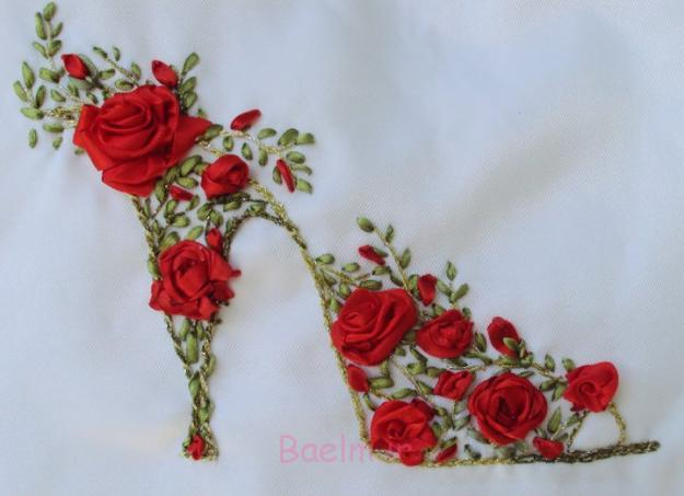مدل های جدید و زیبا از روبان دوزی،روبان دوزی