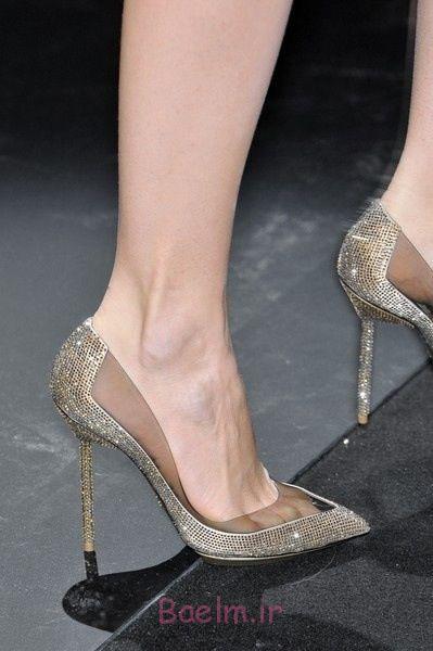 0 کفش فانتزی طلایی توسط آرمانی