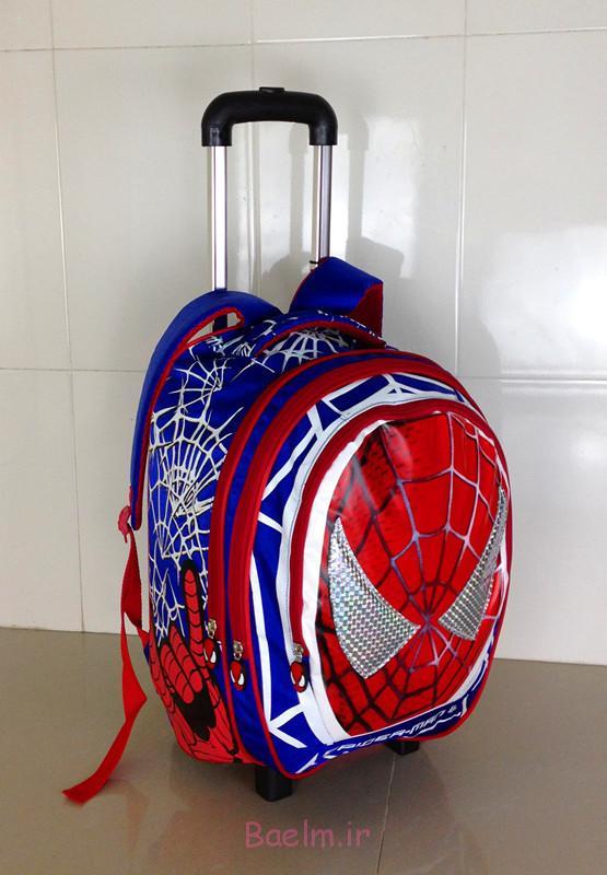 1 مرد عنکبوتی کیسه چرخ
