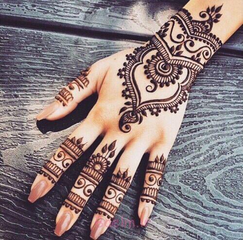 15 Best Latest Hena Tattoo Mehndi Designs Ideas For Hands 2015 13 15 Best & Latest Hena Tattoo & Mehndi Designs & Ideas For Hands 2015