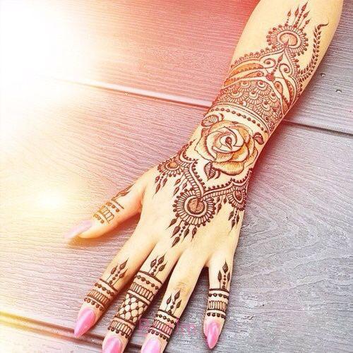 15 Best Latest Hena Tattoo Mehndi Designs Ideas For Hands 2015 14 15 Best & Latest Hena Tattoo & Mehndi Designs & Ideas For Hands 2015