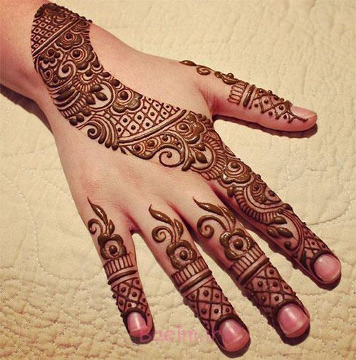 15 Best Latest Hena Tattoo Mehndi Designs Ideas For Hands 2015 5 15 Best & Latest Hena Tattoo & Mehndi Designs & Ideas For Hands 2015